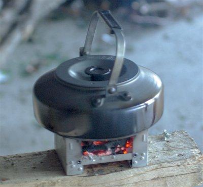 Faire bouillir de l'eau avec un Esbit